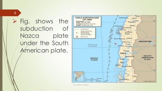 1960 Chile Earthquake Map.Chile Earthquake 1960