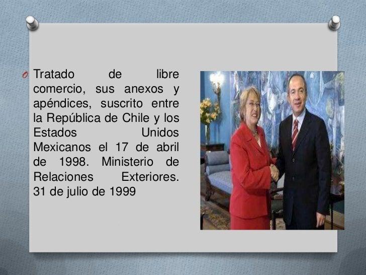 Chile En El Mundo Tlc