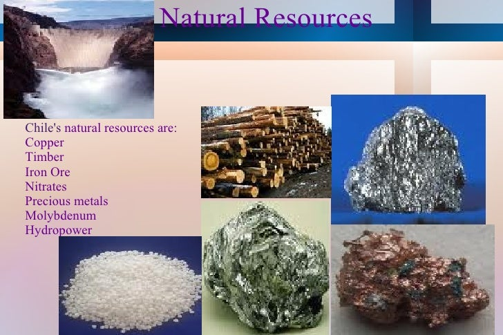 What Are The Natural Resources Of Chile