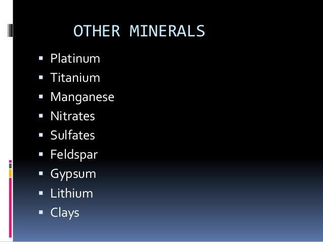 MAJOR COPPER MINES   Candelabra mine   Chuquicamata   Collahuasi mine   El Abra mine   El Morro mine   El Salvador m...
