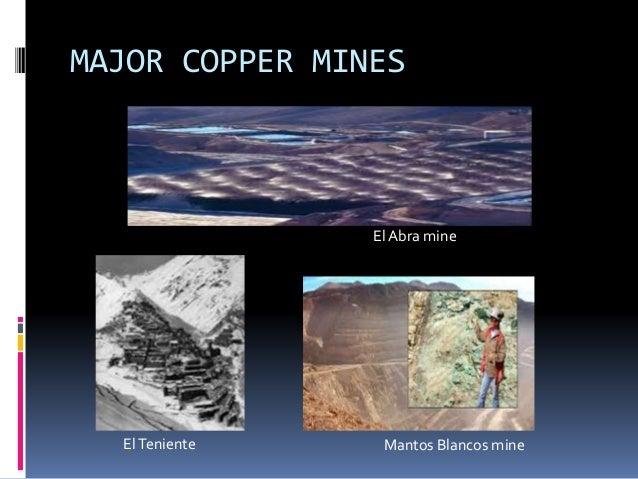 MAJOR GOLD MINES  El Indio Gold Belt  Maricunga Gold mine Candelaria Mine