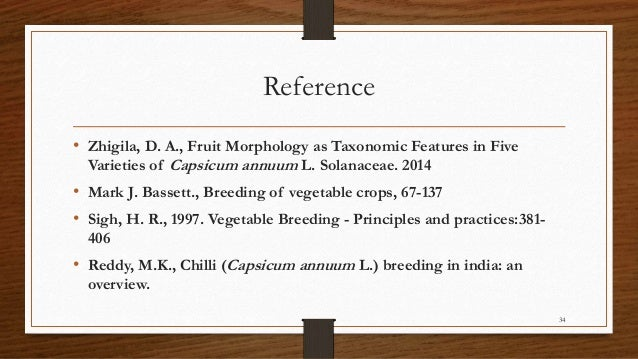 Analyse Different Chilli Peppers