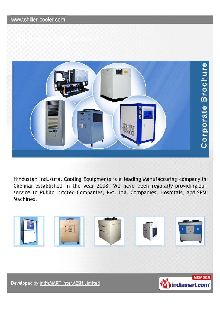 Hindustan Industrial Cooling Equipments is a leading Manufacturing company inChennai established in the year 2008. We have...