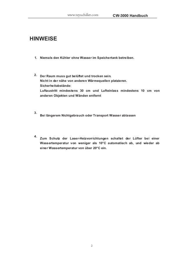 CW-3000 INDUSTRIE KüHLER Slide 2