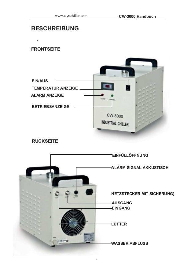 CW-3000 INDUSTRIE KüHLER Slide 3