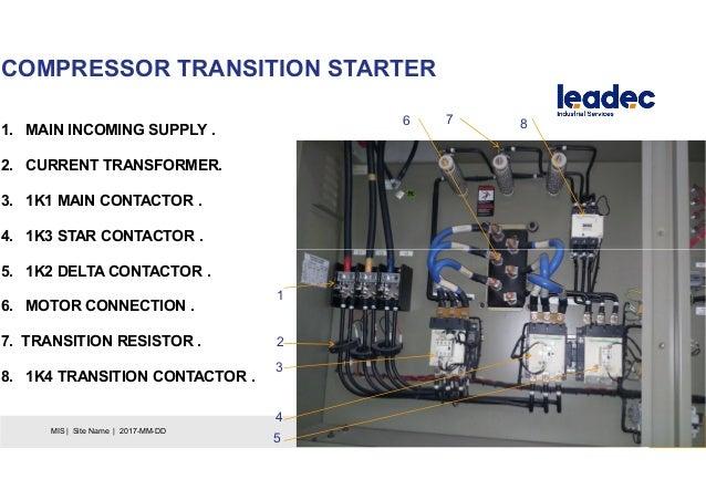 chiller starter wiring diagram chiller ppt  chiller ppt