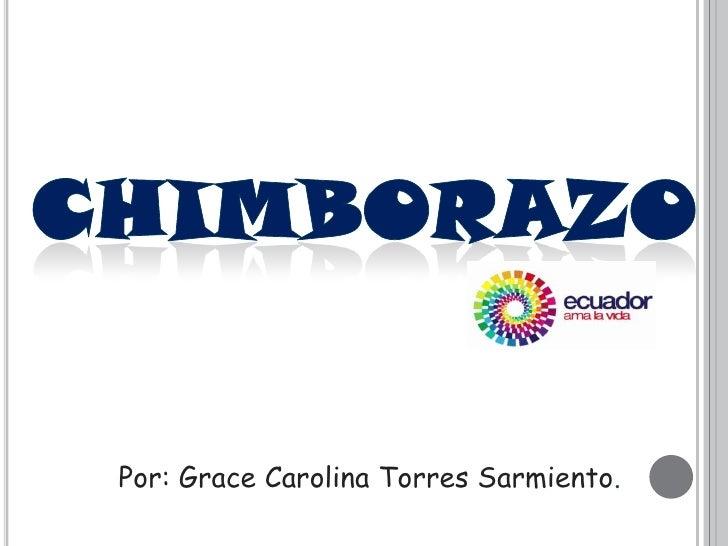 Por: Grace Carolina Torres Sarmiento.