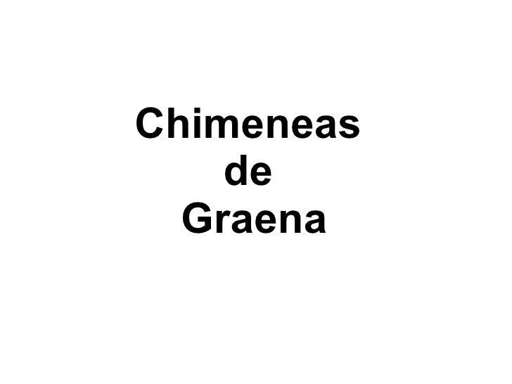 Chimeneas    de  Graena