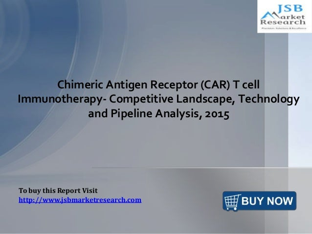 Chimeric Antigen Receptor (CAR) T cell Immunotherapy- Competitive Landscape, Technology and Pipeline Analysis, 2015 To buy...