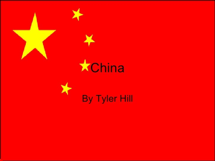 China By Tyler Hill