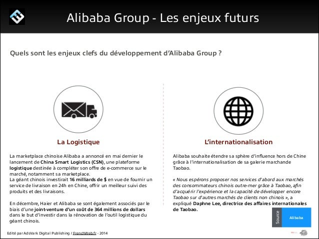 1/ Le programme Start Me Up!  Alibaba Group - Management  Jack Ma Chairman of the board  Jonathan Lu  CFO  Daniel Zhang Ch...