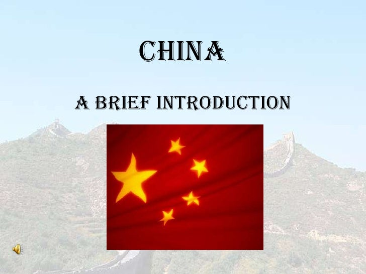 ChinaA Brief Introduction
