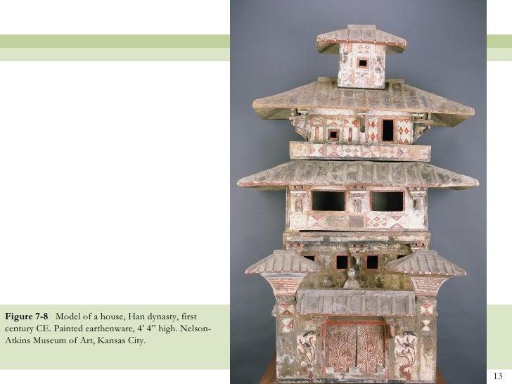 Han dynasty house model