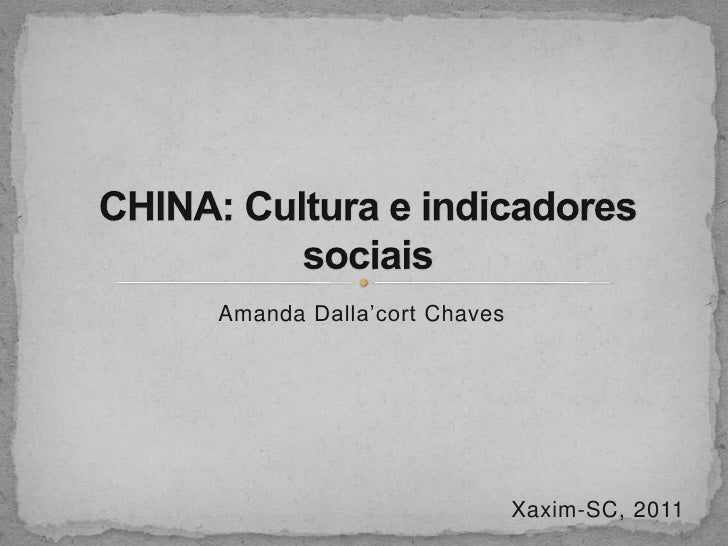 Amanda Dalla'cort Chaves                           Xaxim-SC, 2011