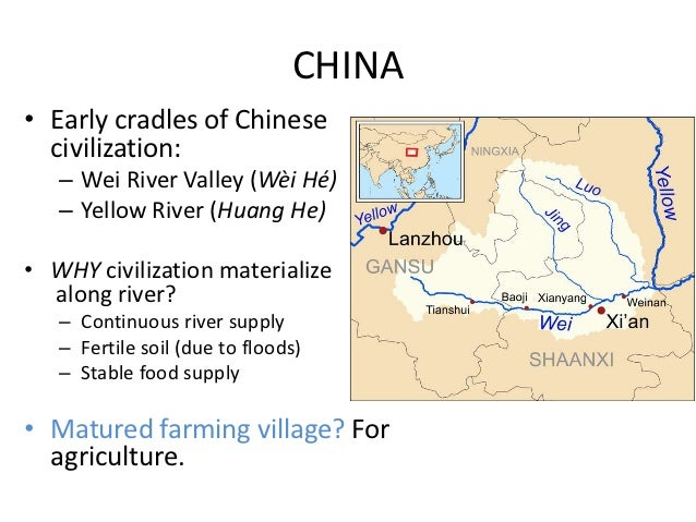 huang he river valley civilization Yellow river civilization is the main source of chinese civilizationthis page introduces yellow river civilization's development, contributions to the world and history.