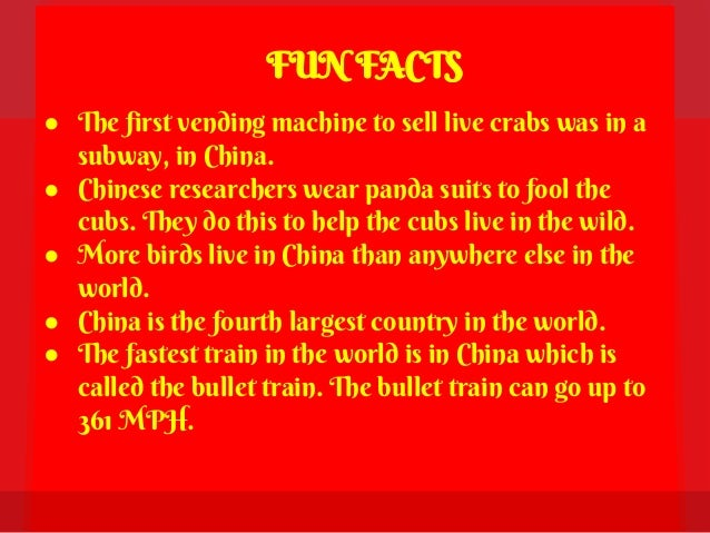 Such strange Chinese or 10 interesting facts about the Chinese 67
