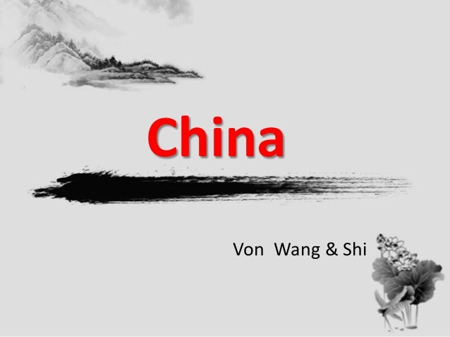 China Von Wang & Shi