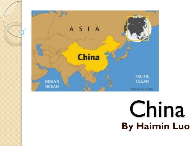 China  By Haimin Luo