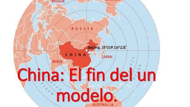 China: El fin del un modelo.
