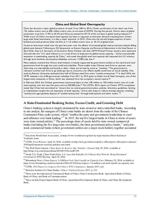 China's Economic Rise: History, Trends, Challenges, Implications for the United States Congressional Research Service 31 C...
