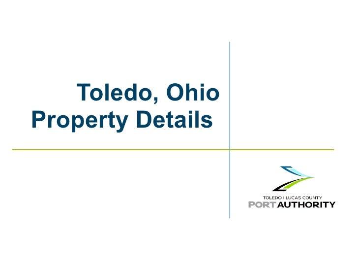 Toledo, Ohio Property Details