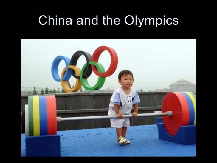 China and the Olympics