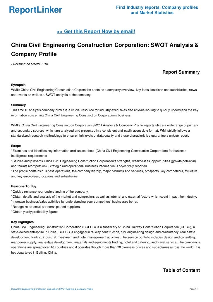 swot analysis for chinese company Ikea in china emma fenton 10314305 bchn30070 introduction in this report i will be examining ikea in the chinese market i will first conduct a company analysis using porter's 5 forces and.