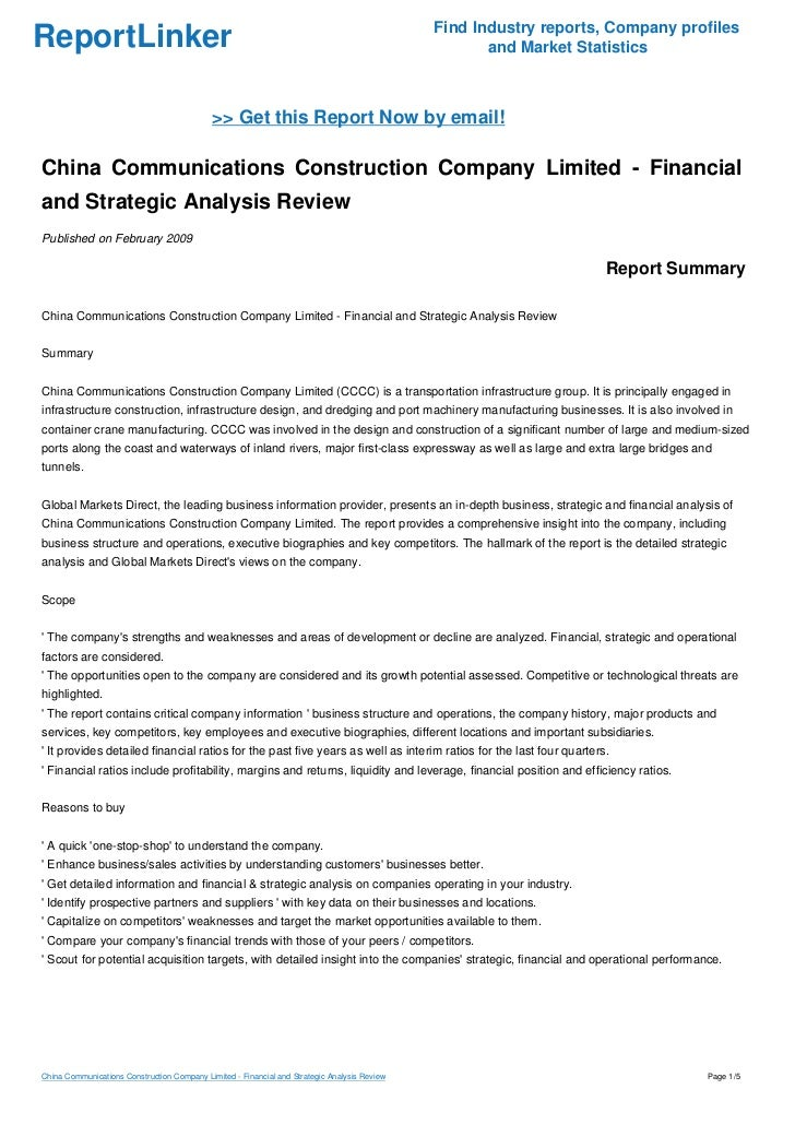 manufacturing company financial analysis and co relating Division of corporation finance: international financial reporting and disclosure issues may 1, 2001 prepared by accounting staff members in the division of corporation finance.
