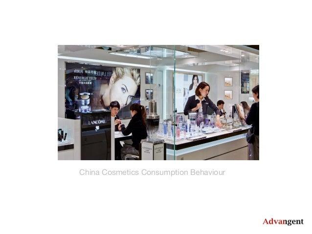 China Cosmetics Consumption Behaviour