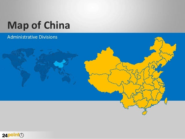 Map of China Administrative Divisions