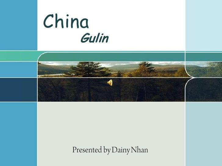 China     Gulin