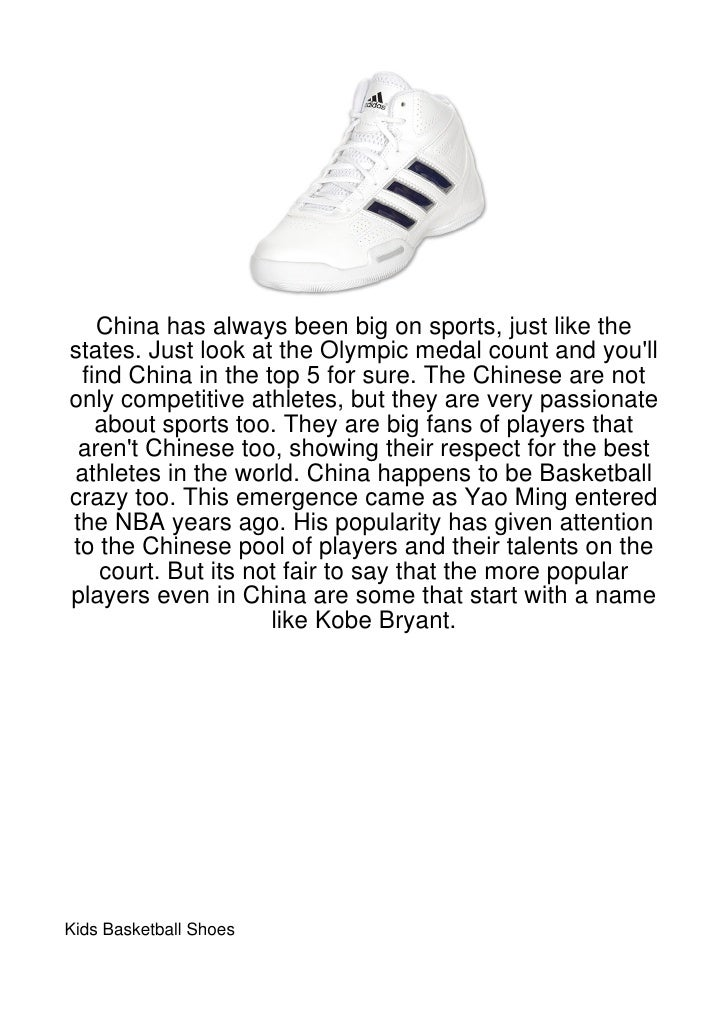 China has always been big on sports, just like thestates. Just look at the Olympic medal count and youll find China in the...