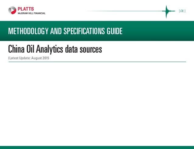 China oil-analytics-data-sources PLATTS