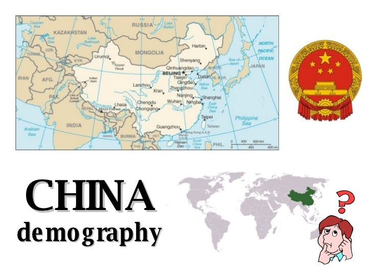 CHINA demography