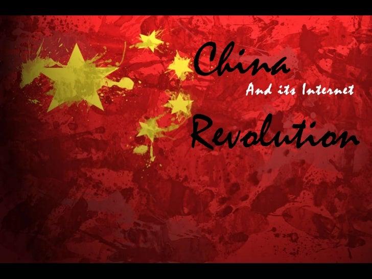 China And its Internet Revolution