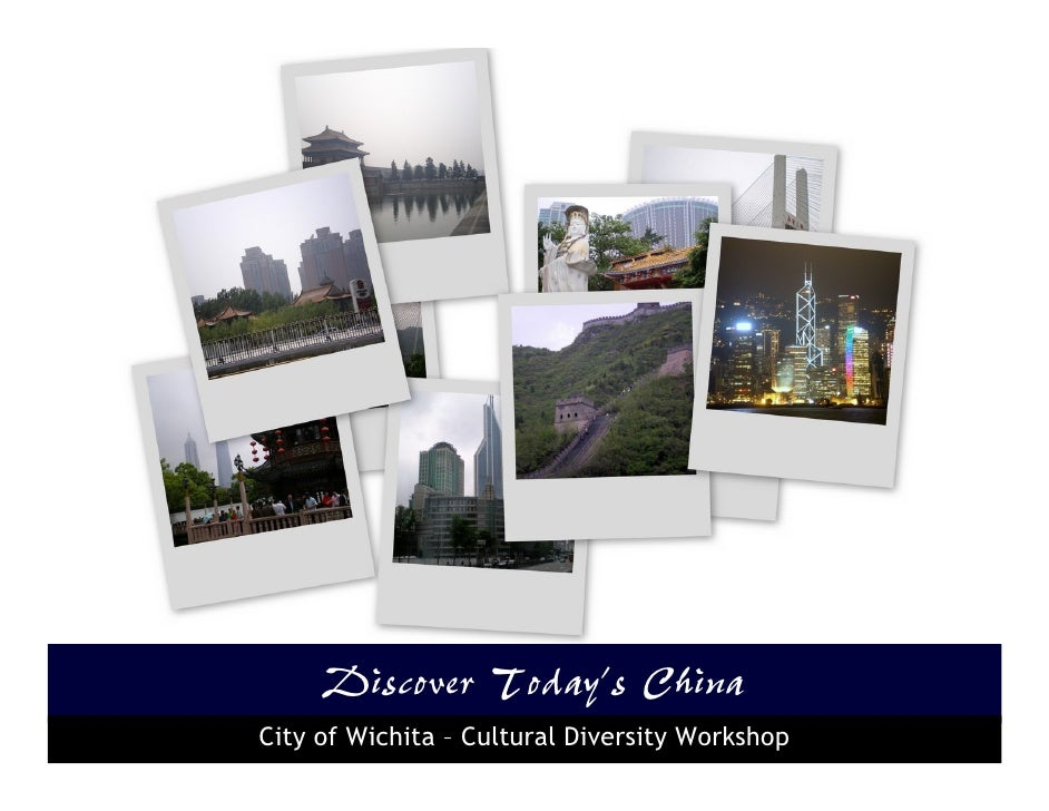 Discover Today's China City of Wichita – Cultural Diversity Workshop