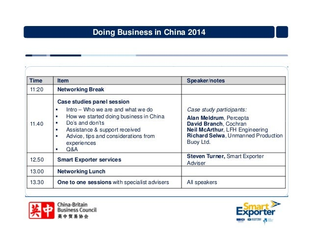 case of doing business china A pocket guide to doing business in china by gordon orr joint ventures have been part of doing business in china for more than 30 years in many sectors.