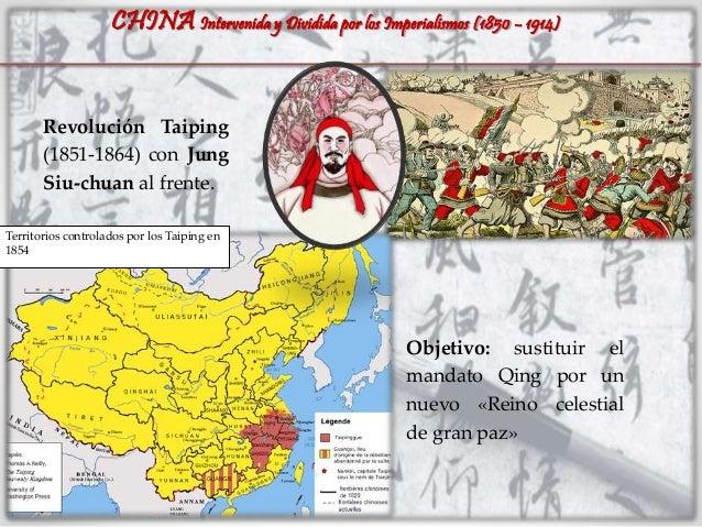 CHINA: Intervenida y dividida por los imperialismos (1850 - 1914) Slide 2