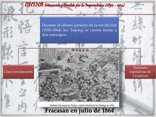 CHINA: Intervenida y dividida por los imperialismos (1850 - 1914) Slide 3