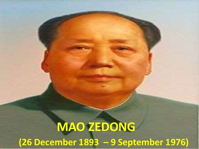 the reign of mao zedong Mao zedong and communist china dr ben habib lecturer in politics and international relations la trobe university, albury-wodonga.