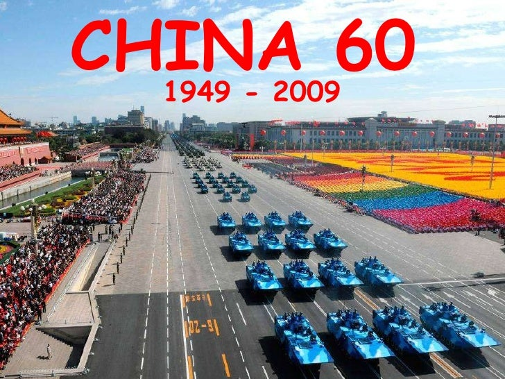 CHINA 60 1949 - 2009