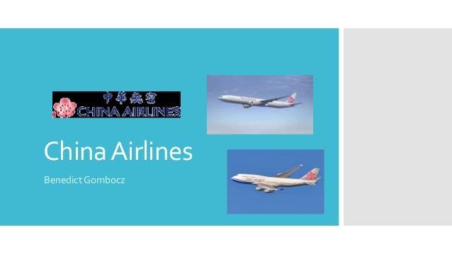 ChinaAirlines Benedict Gombocz