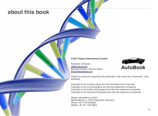 China AutoBook Preview