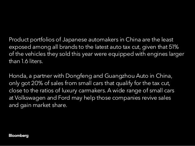 China capitulates: Another round of auto stimulus Slide 11