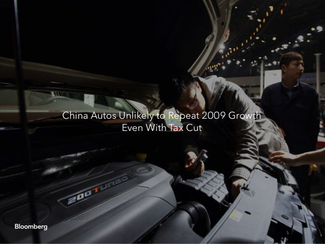 China capitulates: Another round of auto stimulus Slide 14