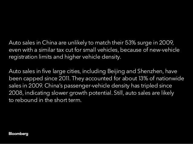China capitulates: Another round of auto stimulus Slide 15