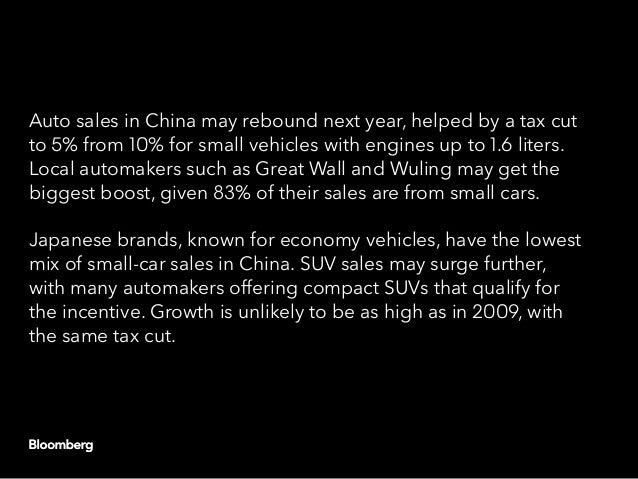 China capitulates: Another round of auto stimulus Slide 3