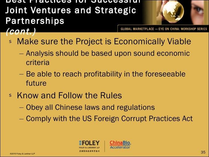 <ul><li>Make sure the Project is Economically Viable </li></ul><ul><ul><li>Analysis should be based upon sound economic cr...