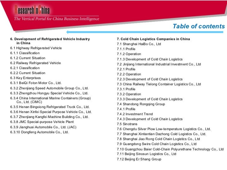 china cold chain logistics industry report The global cold chain logistics market 2018 report is a professional and in-depth research report on the world's major regional market conditions of the cold chain logistics market, focusing on the main regions and the main countries (north america, europe, china, japan, southeast asia and india.