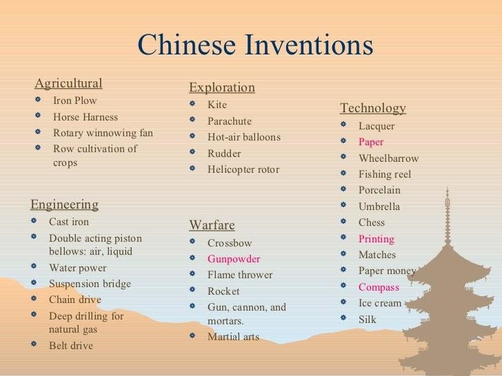 Asian civilization contribution